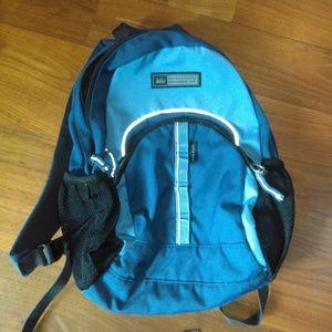 REI blue Little Teton backpack